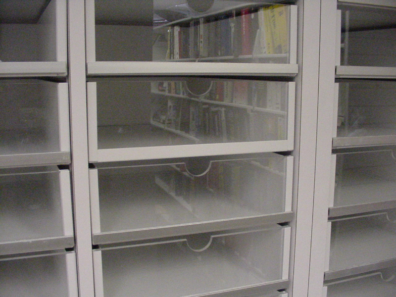 Mail Slots Can Have Drawers In It With See Through Fronts In Your Mailroom