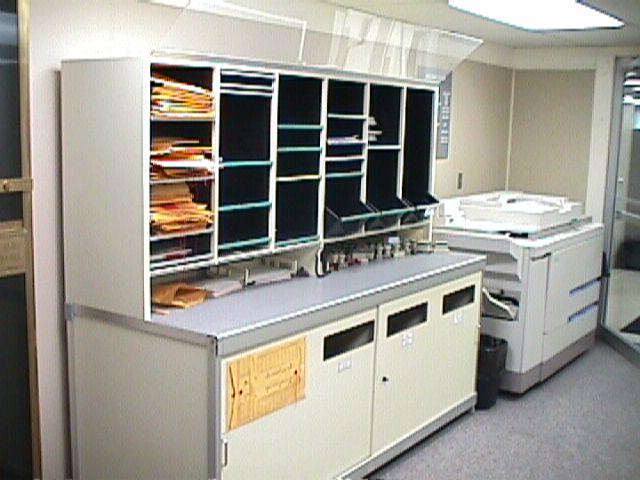 Hamilton Sorter Mailroom Furniture Mailroom Slots In Texas