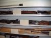 Evidence carousel long gun storage
