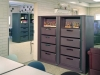Replace lateral cabinets and save space with rotary filing cabinets.
