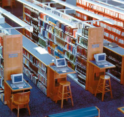 Library Furniture Library Shelving Library Carrels In