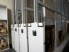 Art rack powered storage system