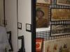 Art rack storage that condenses art storage