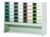Slots with a riser in your mailroom furniture system