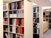 Resource library shelving for architectural firm in your mailroom