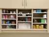 Keep your supplies organized in your mailroom