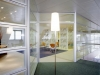 Demountable mobile walls with glass