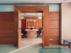Doors can be solid core wood on moveable walls