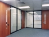 Doors have a lot of options for the demountable walls