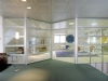 Glass moveable walls with frame look