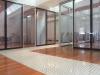 Vertical glass demountable mobile walls