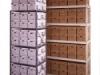 Four post box shelving