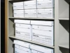 Box shelving for file archiving