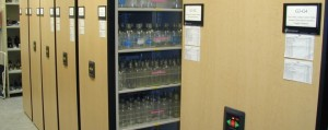 Store more medical and lab supplies in less space with high density shelving