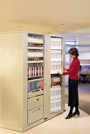 Rotary Shelving and Filing Systems for your office