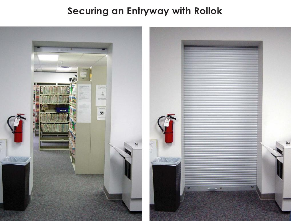 Locking Chart And File Hipaa Shelving Utilizing Rollok