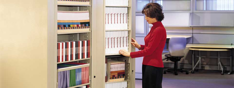 Rotary File and Storage Cabinets